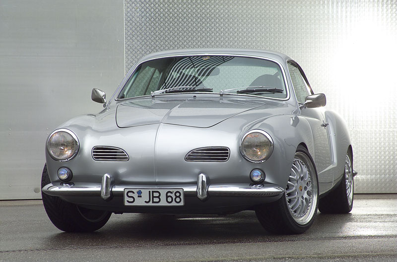 Badern Racing do a Karmann Ghia with a Porsche 993 RS under the shell