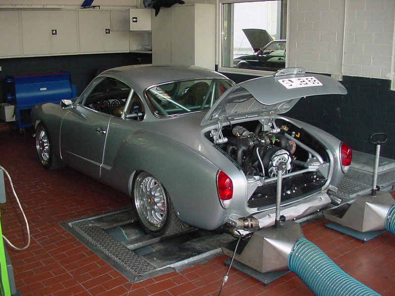 Porsche 911 powered Karmann Ghia